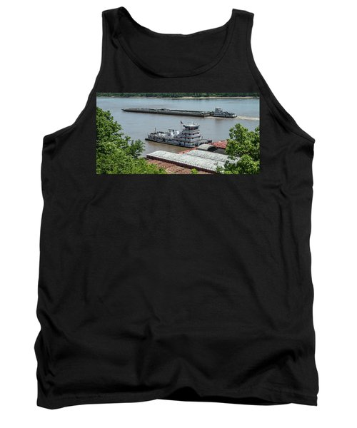The Towboat Buckeye State Tank Top by Garry McMichael