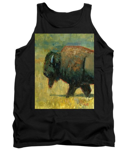 Tank Top featuring the painting The Traveler by Billie Colson