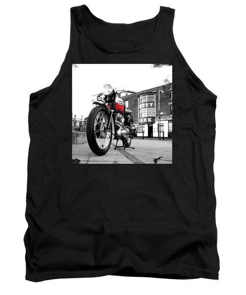 The Trophy Tr5 Motorcycle Tank Top
