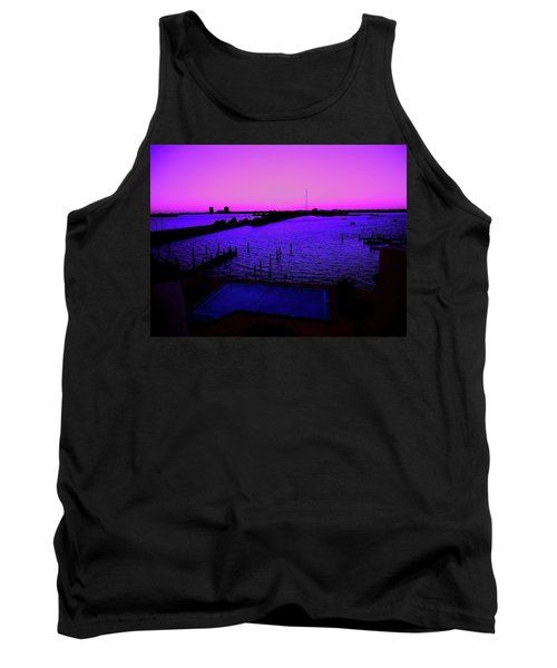 The Purple View  Tank Top