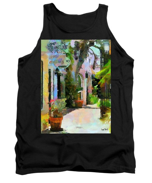 The Villa Tank Top by Wayne Pascall