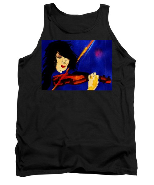 The Violinist Tank Top