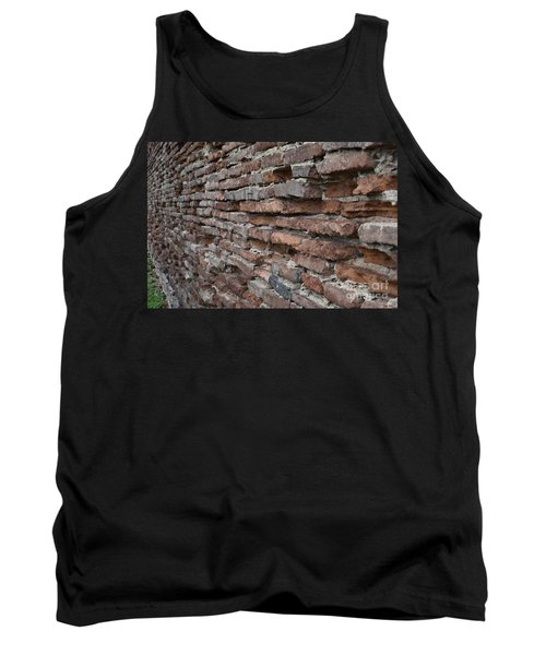 Tank Top featuring the photograph The Wall by Cendrine Marrouat