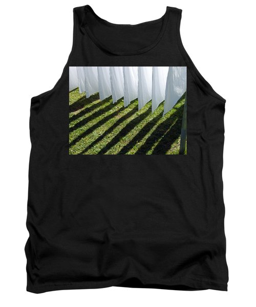 The Washing Is On The Line - Shadow Play Tank Top