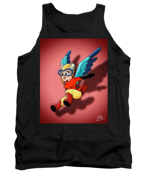 the WASP Tank Top by David Collins