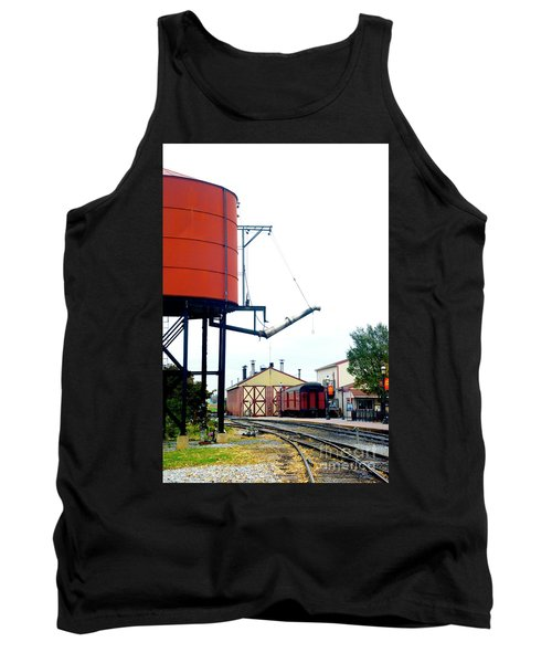 Tank Top featuring the photograph The Water Tower by Paul W Faust - Impressions of Light