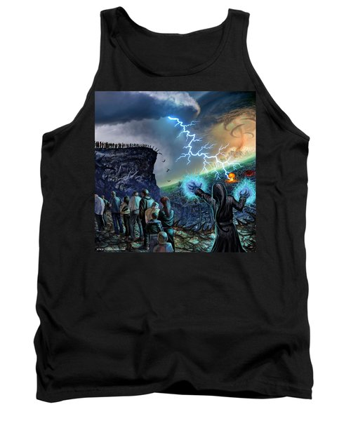 The Weak Shall Bring Us Down Tank Top by Tony Koehl