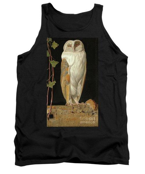 The White Owl Tank Top