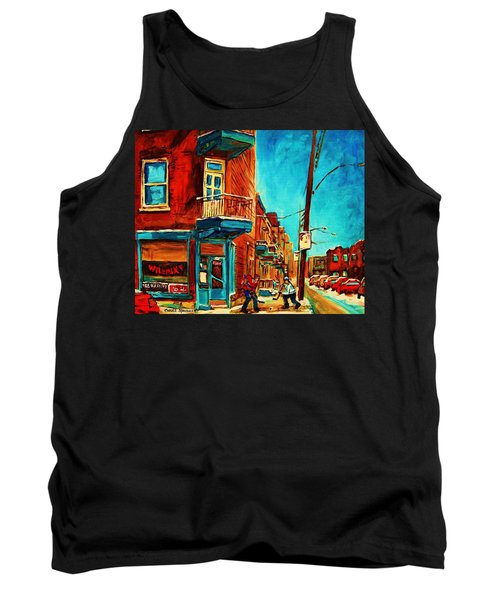 Tank Top featuring the painting The Wilensky Doorway by Carole Spandau