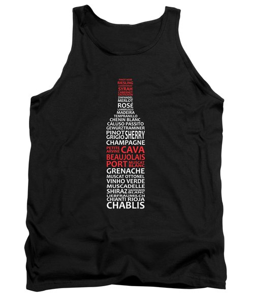 The Wine Connoisseur Tank Top