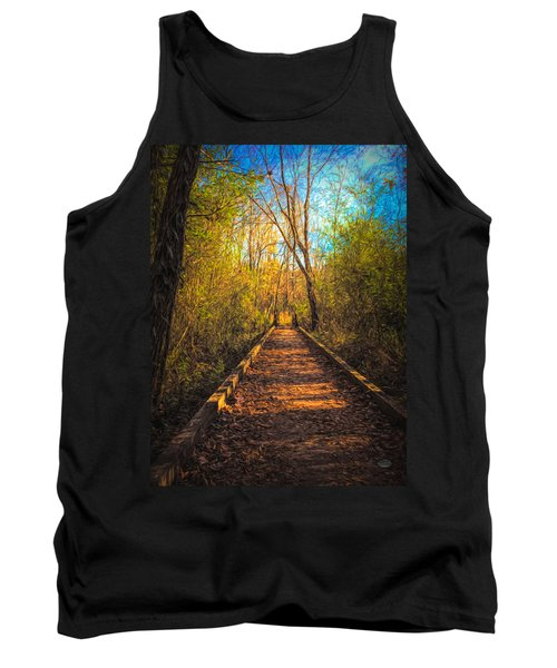 The Wooden Trail Tank Top