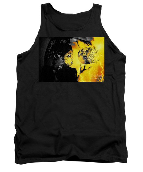 The World Is Mine Tank Top by Jessica Shelton