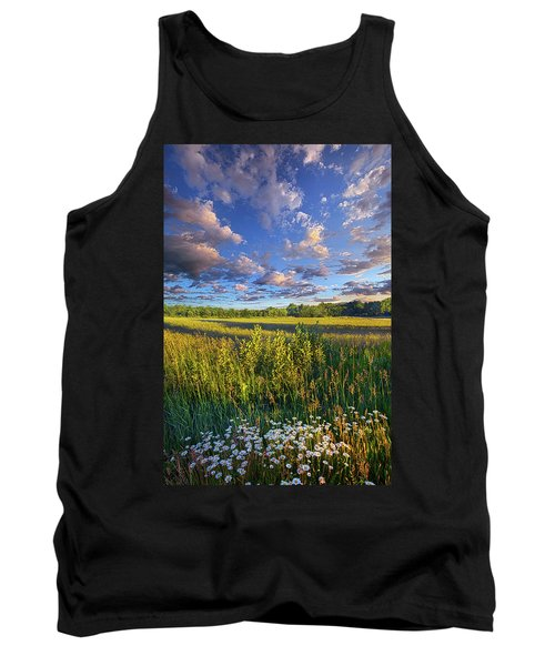 The World Is Quiet Here Tank Top by Phil Koch