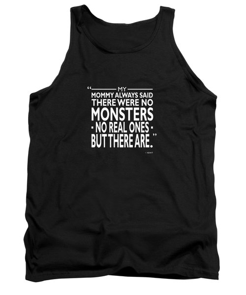 There Were No Monsters Tank Top by Mark Rogan