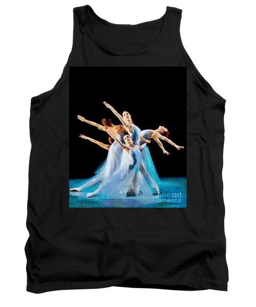 They Danced Tank Top by Catherine Lott