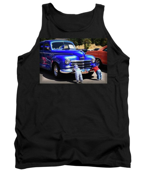 They Spent Our College Money For This Tank Top