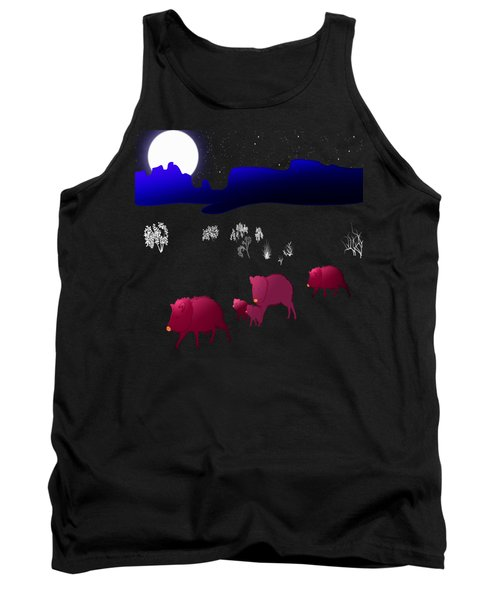 They Walk By Night Tank Top