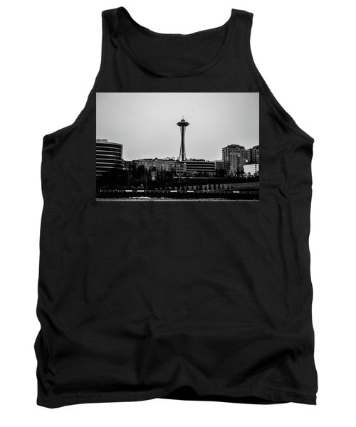 This Is Seattle Black And White Tank Top