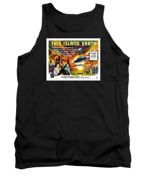 This Island Earth Science Fiction Classic Movie Tank Top