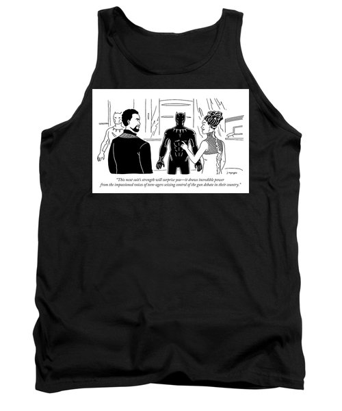 This Suits Strength Will Surprise You Tank Top