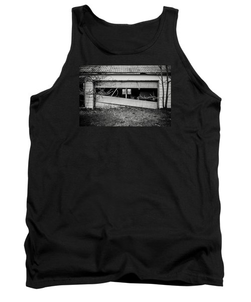 This Was Once The Perfect Hideout Tank Top by Off The Beaten Path Photography - Andrew Alexander