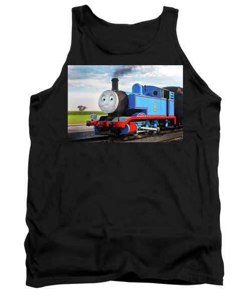Thomas The Train Tank Top by Paul W Faust -  Impressions of Light