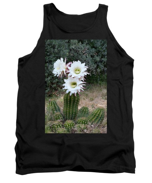 Three Blossoms Tank Top by Monte Stevens