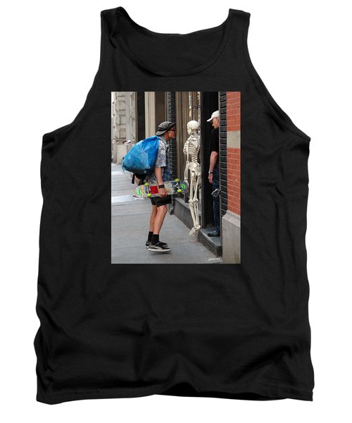 Tank Top featuring the photograph Three Friends by Dorin Adrian Berbier