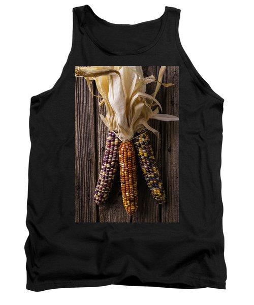 Three Indian Corn Tank Top