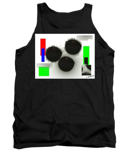 Three Is A Crowd Tank Top