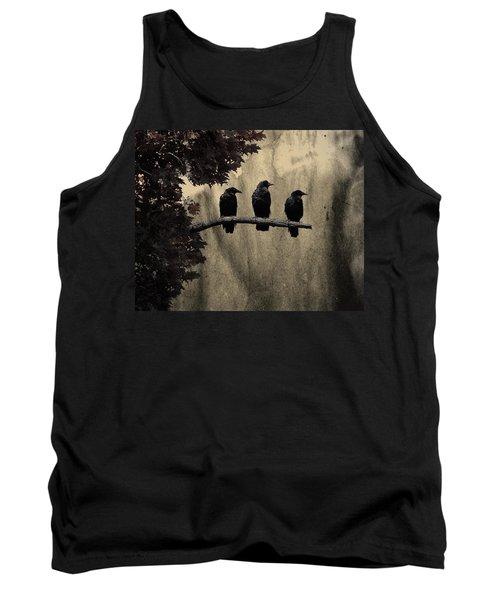 Three Ravens Branch Out Tank Top