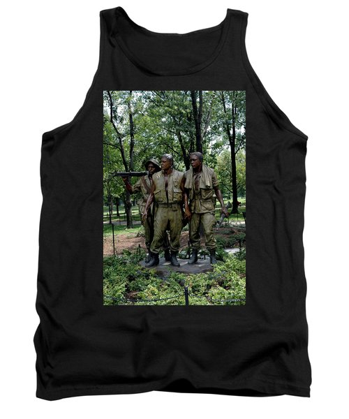 Three Servicemen Tank Top