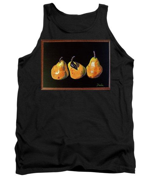 Three Yellow Pears Tank Top