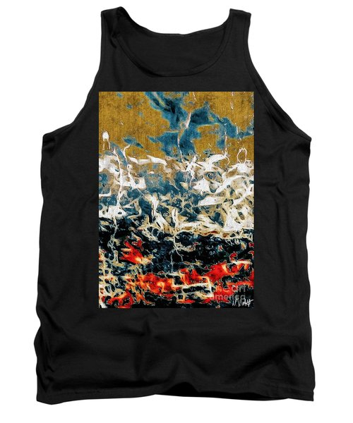 Tank Top featuring the photograph Through The Cracks by William Wyckoff