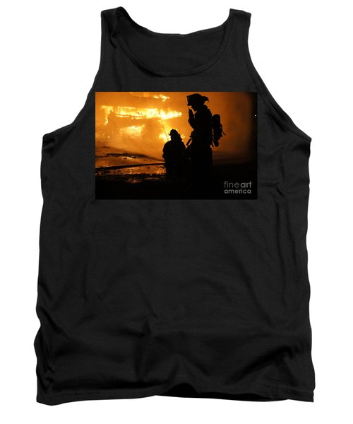 Through The Flames Tank Top by Benanne Stiens