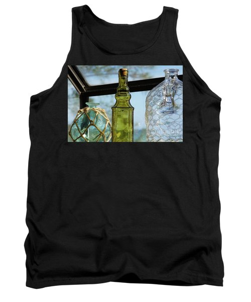 Thru The Looking Glass 3 Tank Top by Megan Cohen