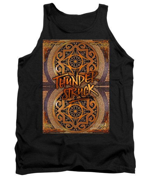 Thunderstruck Palais Garnier Opera Mosaic Floor Paris France Tank Top