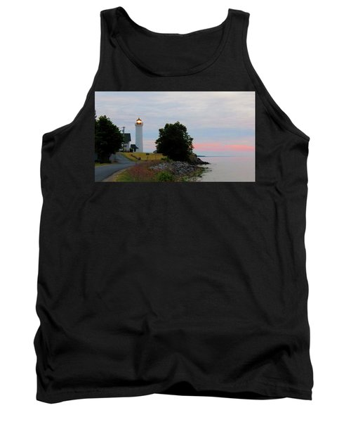 Tibbetts Point Light Sunset Tank Top