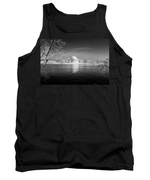 Tidal Basin Jefferson Memorial Tank Top