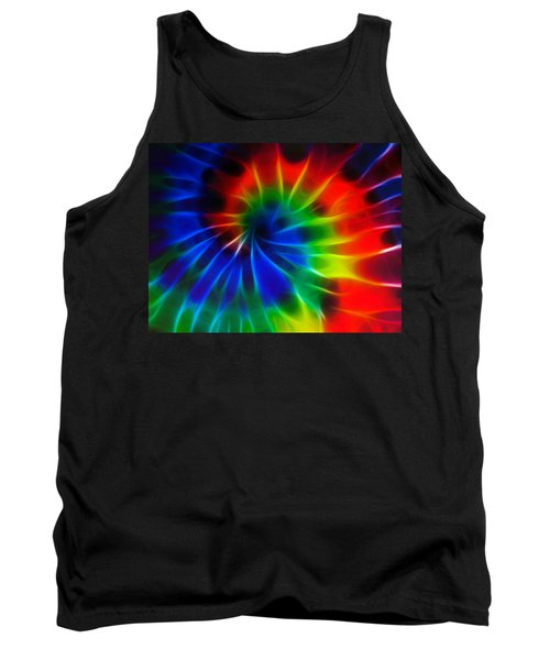 Tie Dye Tank Top by Lynne Jenkins