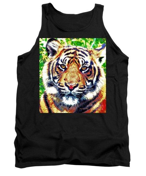 Tiger Art Tank Top