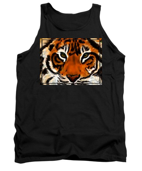 Tiger Eyes Tank Top