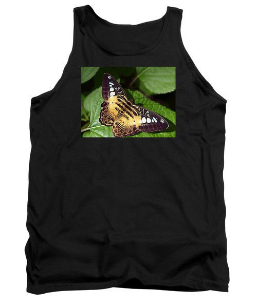 Tiger Print --- Clipper Butterfly Tank Top