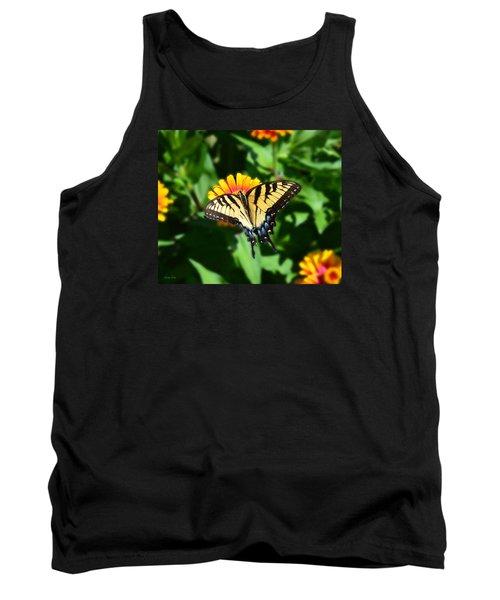 Tiger Swallowtail Butterfly Tank Top