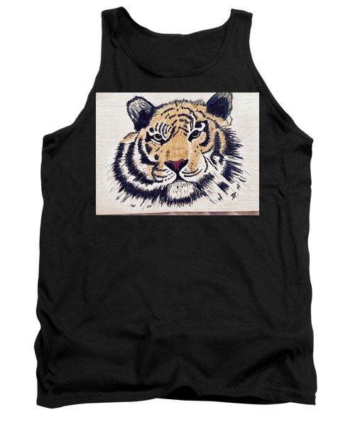 Tiger Tiger Burning Bright Tank Top