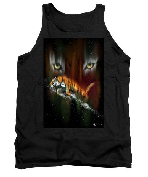 Tiger, Tiger Burning Bright Tank Top