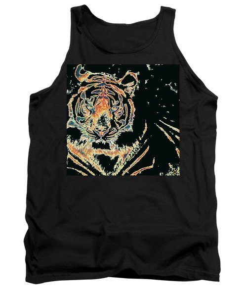 Tiger Tiger Tank Top by Stephanie Grant
