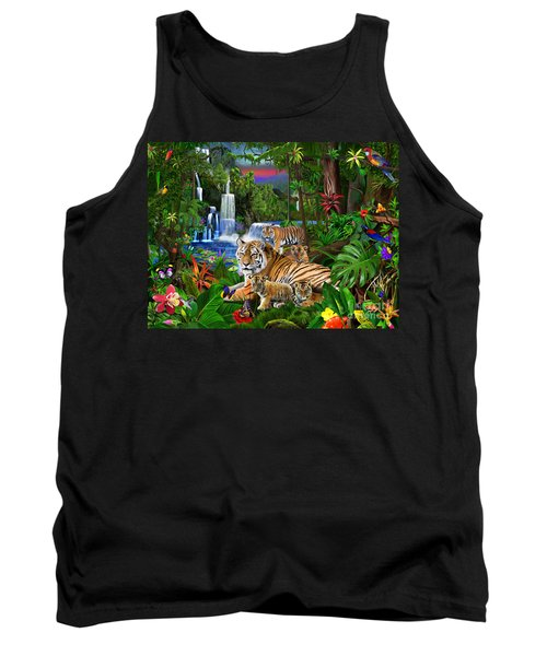 Tigers Of The Forest Tank Top