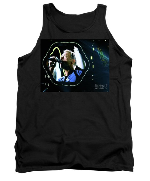 Chris Martin - A Head Full Of Dreams Tour 2016  Tank Top by Tanya Filichkin