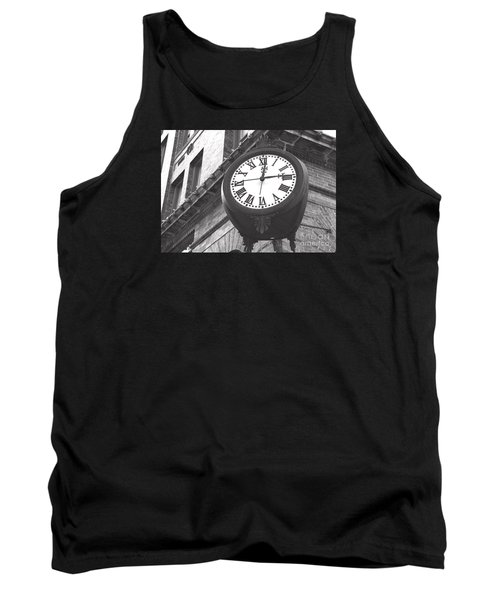 Tank Top featuring the photograph Time Keeps Ticking by Rebecca Davis